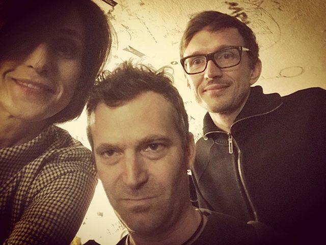 Before the show #bachspace @milla_club @neugierigaufmusik @neuemeistermusic