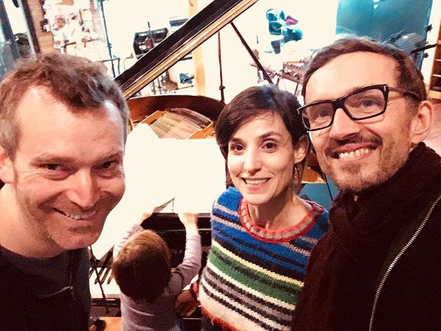 Bachspace working on new material with a new member #bachspace #2019