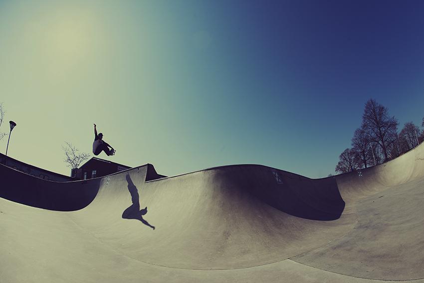 Stefan Toth - Frontside air   Foto Anders Neuman