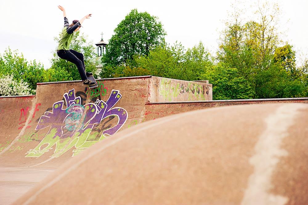 Mateo Cabrejas Bergil - Fs smith. Foto Adam Klingeteg