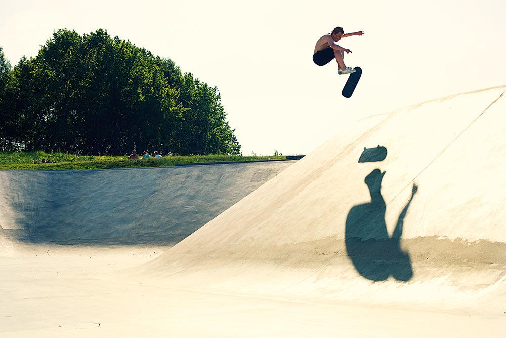 Axel Lindqvist - 360 Flip.   Foto Anders Neuman
