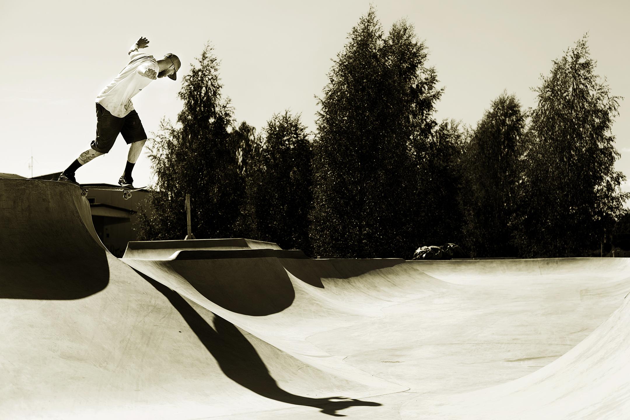 Stefan Jonsson - Wallie transfer backside tailslide