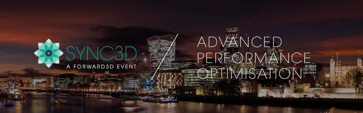 Advanced Performance Optimisation Event Banner