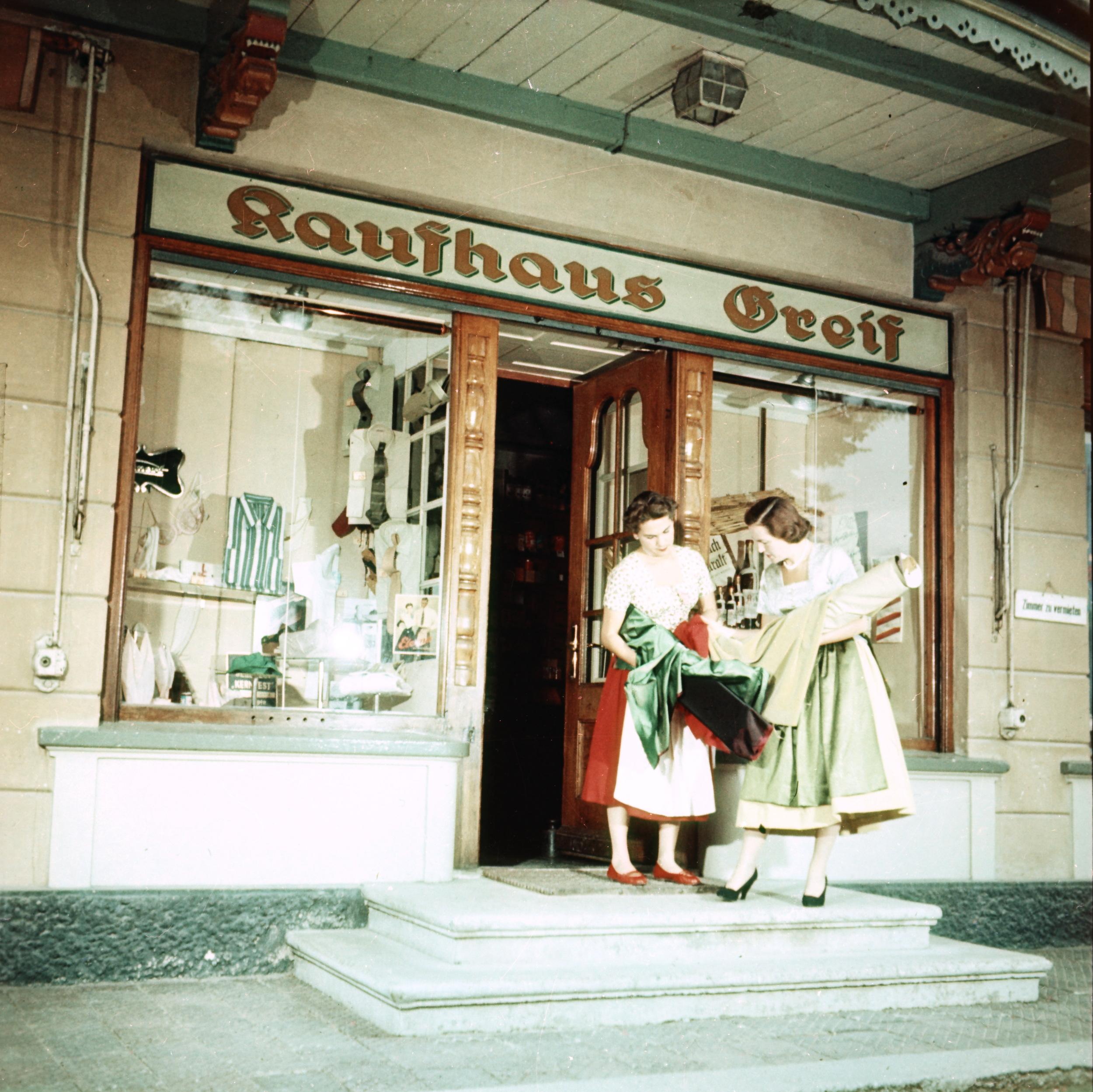 Kaufhaus Greif – Historisch