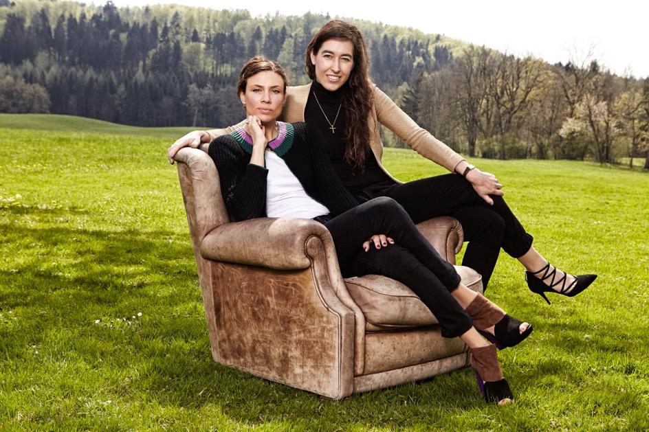 Die Gründerinnen des Labels FederRock: Anna von Schilcher und Valerie Wizemann