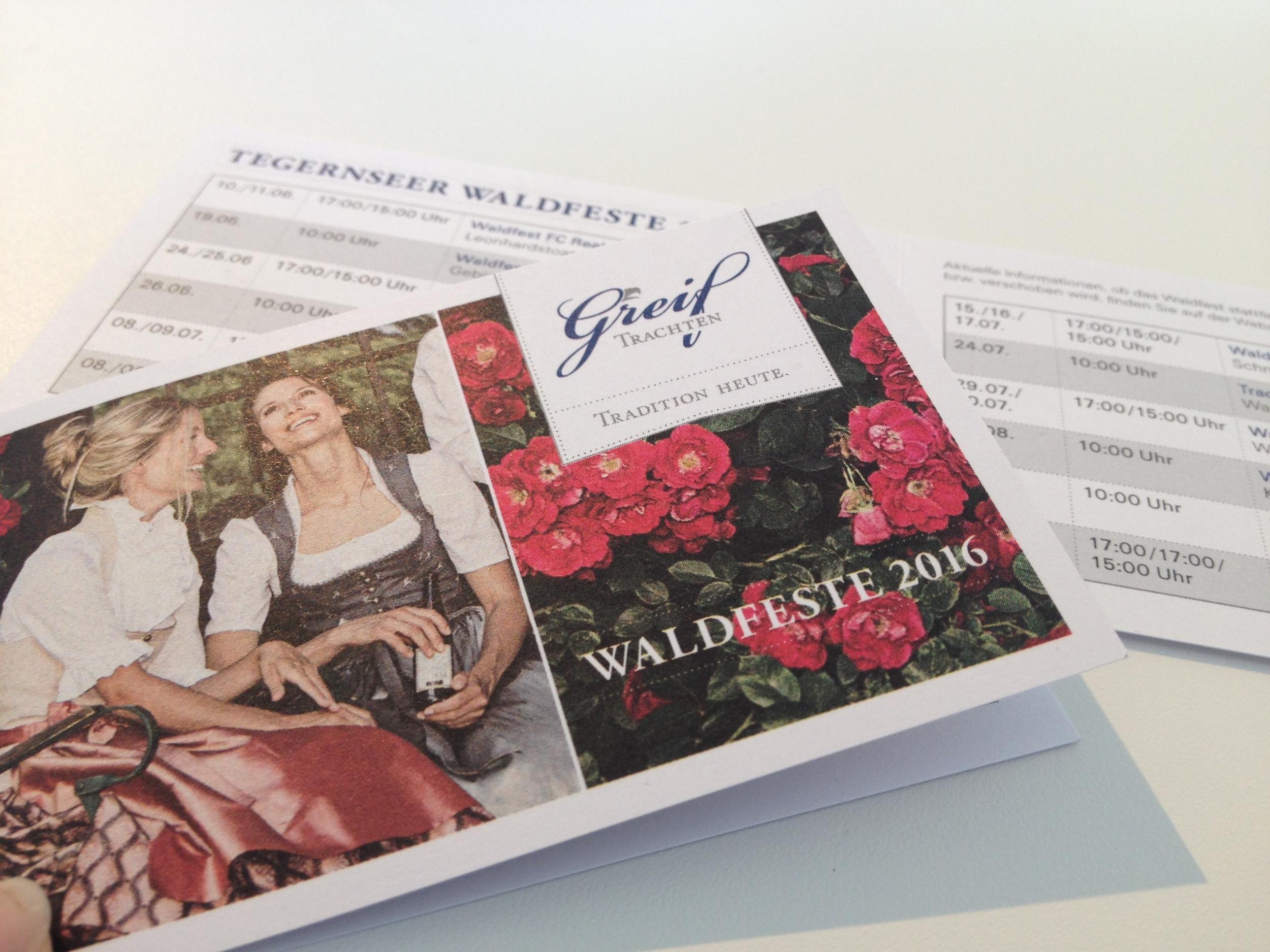 Bringt sie wieder sicher durch die Waldfestsaison:Unser praktischer Waldfestkalender mit allen Terminen im handlichen Format. Ab sofort bei uns im Geschäft erhältlich.
