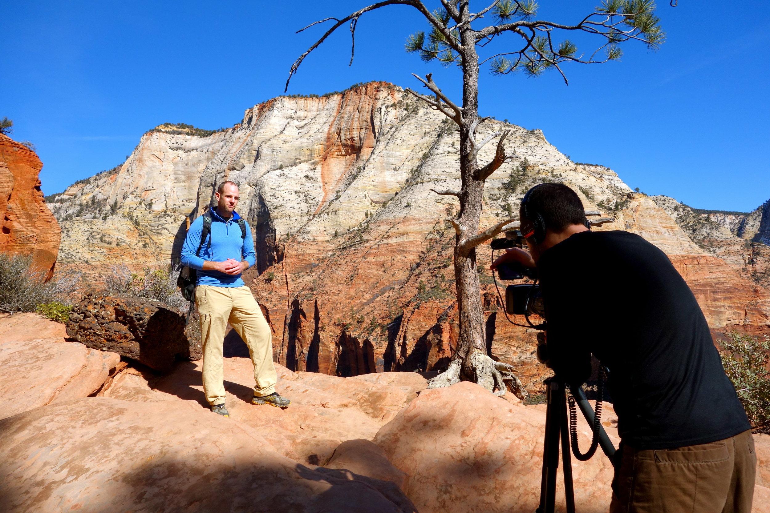 Dave in Arches