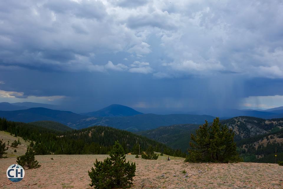 Thunderstorm photo. Colorado - CDT