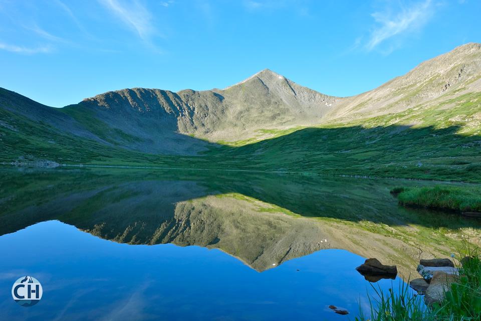 Lake Reflection Mountains