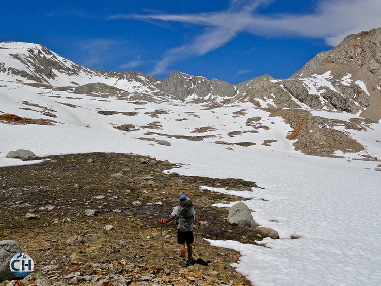 Forester Pass PCT Snow 2010
