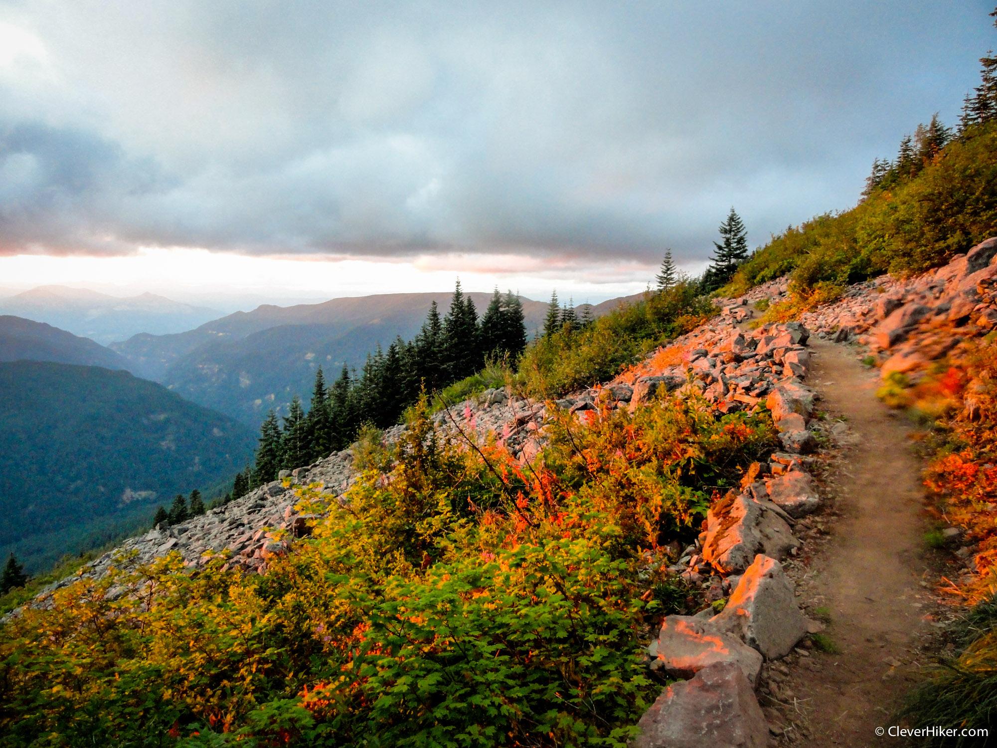 PCT - Oregon Sunset