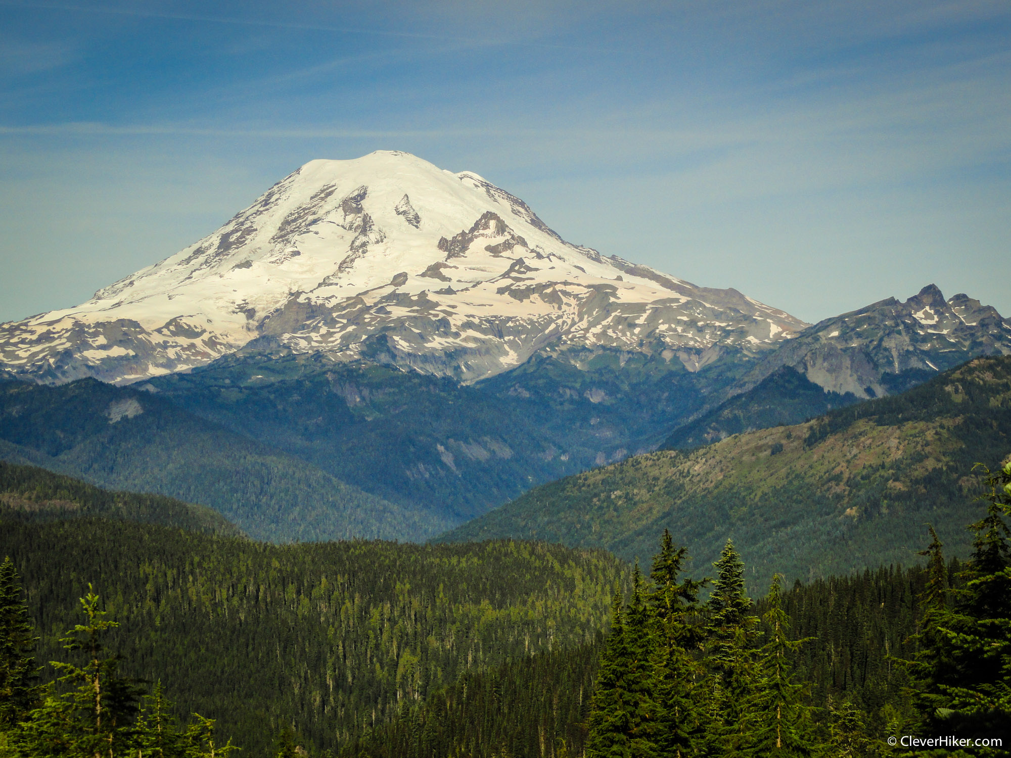 Mt. Rainier from the PCT