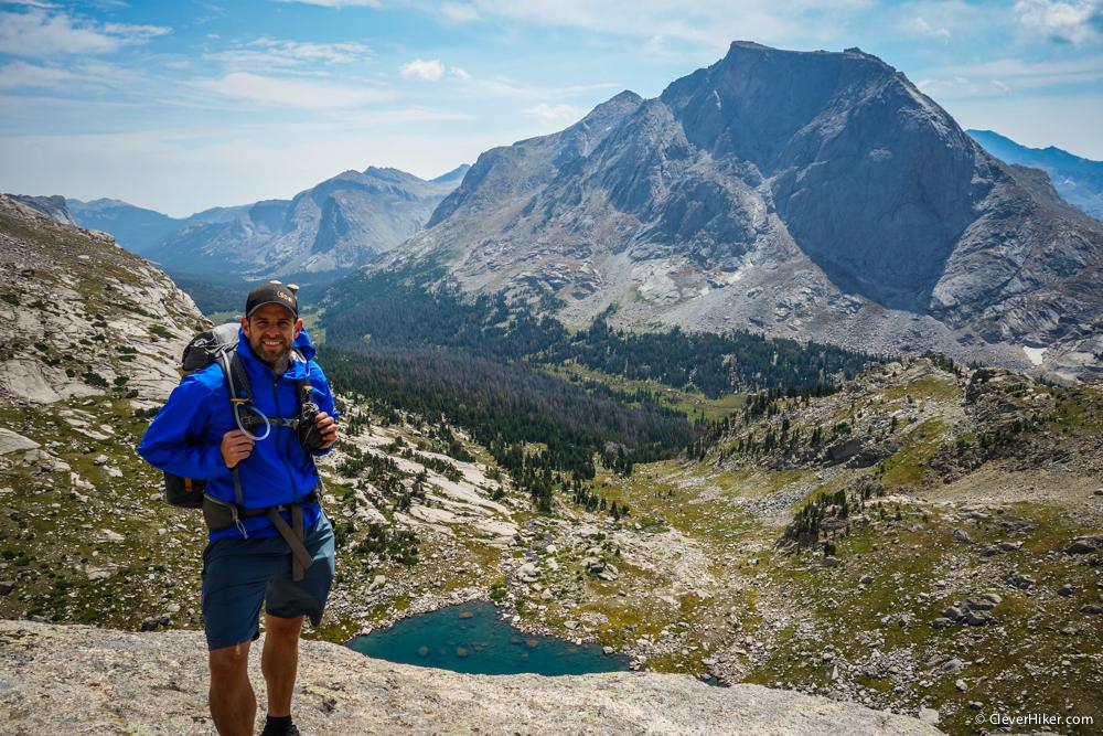 Ridge southeast of Texas Pass. View to Mitchell Peak.
