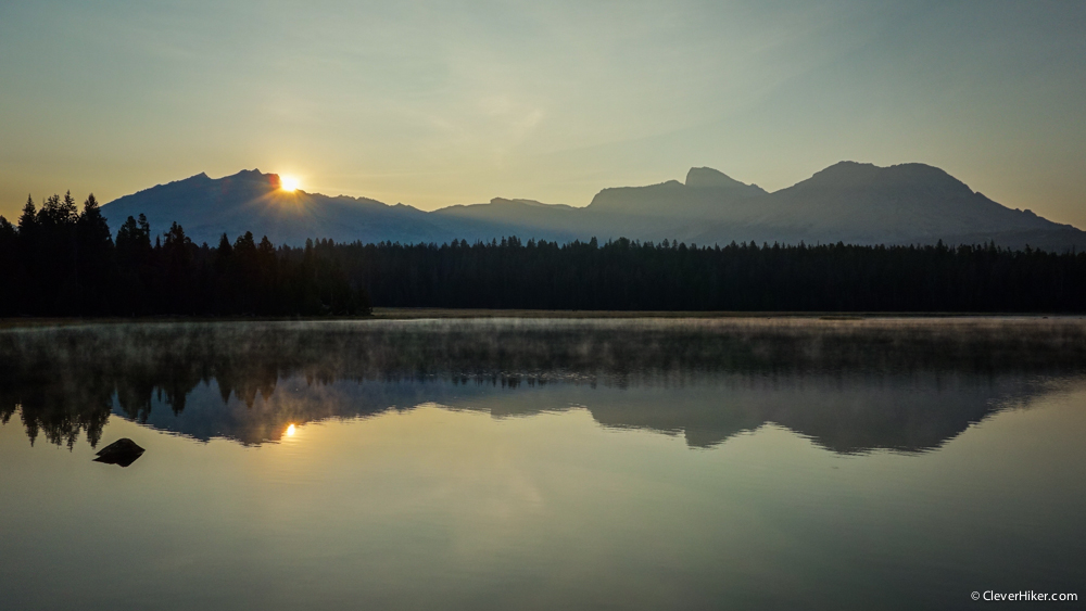Sunrise - V Lake