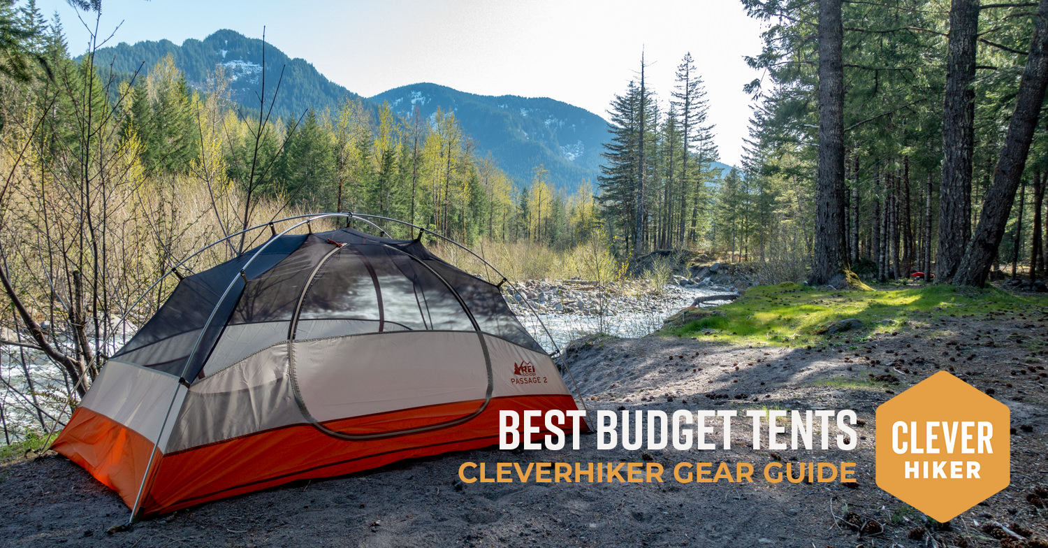 new styles 04eac 30ffb 6 Best Cheap Backpacking Tents of 2019 — CleverHiker