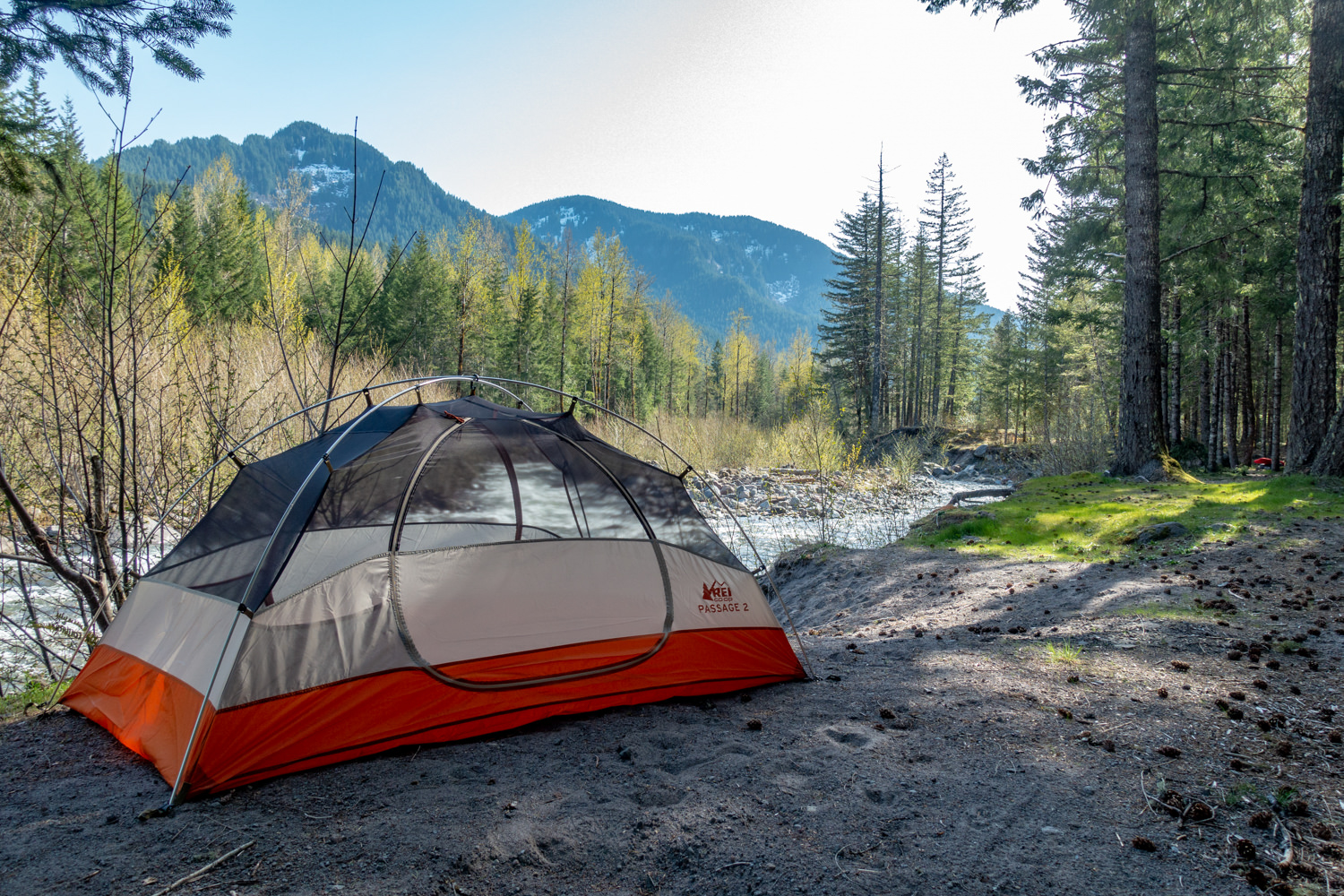 The  REI Co-op Passage 2  is a great budget backpacking tent.