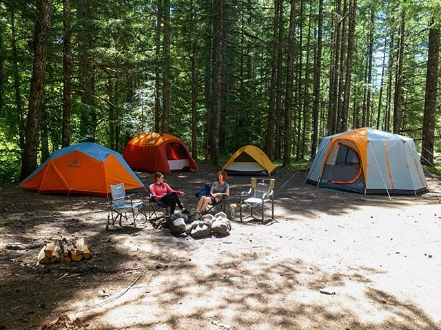 Lovely weekend of tent testing out by Mt Hood!