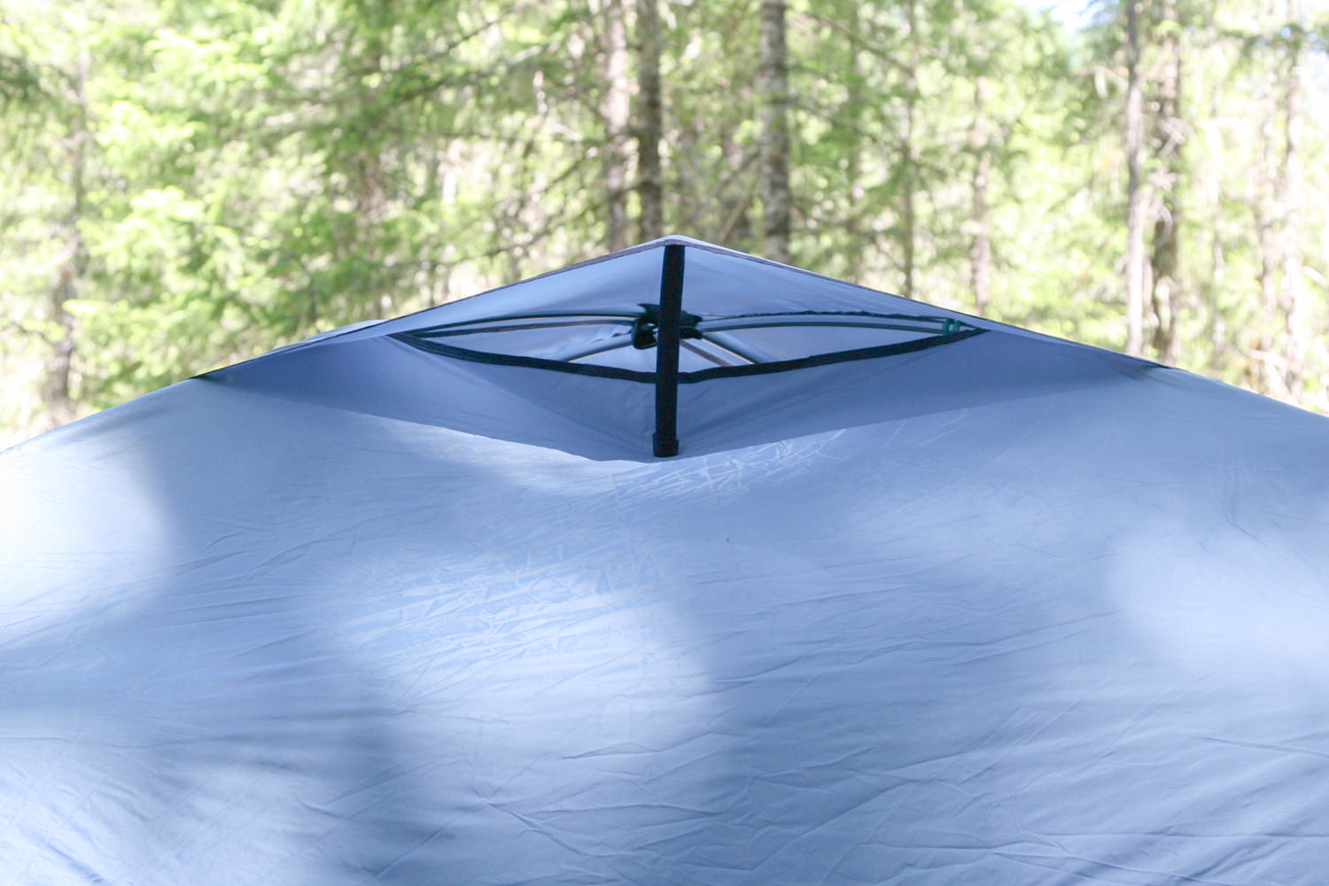 kickstand vents that you can access from the interior of the tent offer good ventilation.