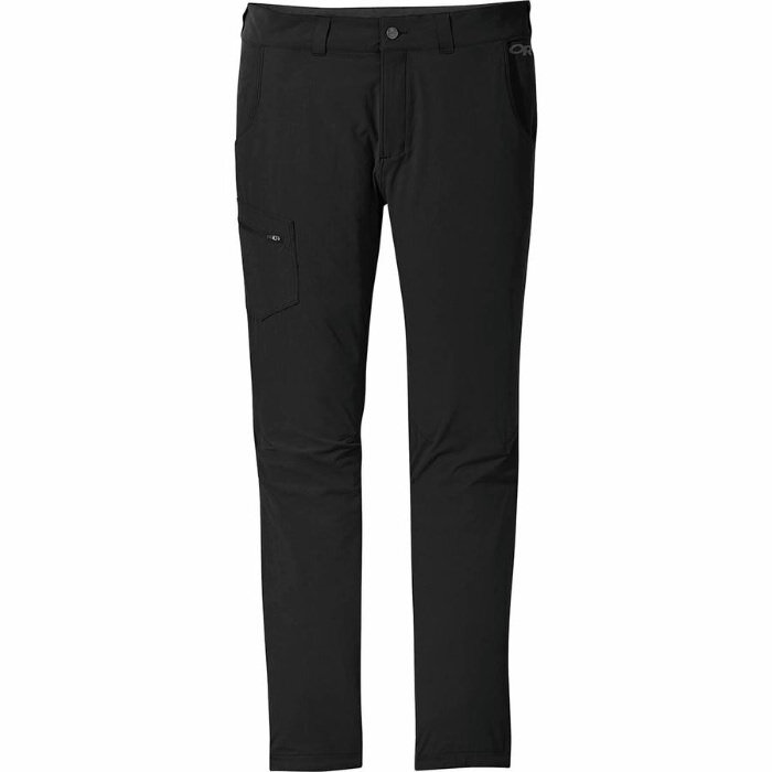 Coursanlouis Mens Hiking Pants Quick-Dry Water-Resistant Lightweight Sweatpants with Zipper Pockets