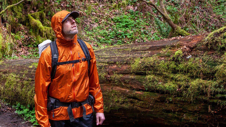 Outdoor Research Mens Helium Rain Jacket