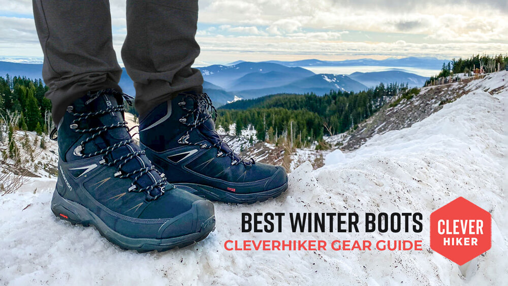 Mens Hiking Walking Snow Winter Ankle Hiker Trainers Boots Outdoor Shoes