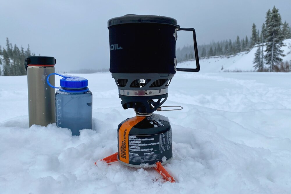 A Nalgene bottle makes an excellent space heater for your sleeping bag.