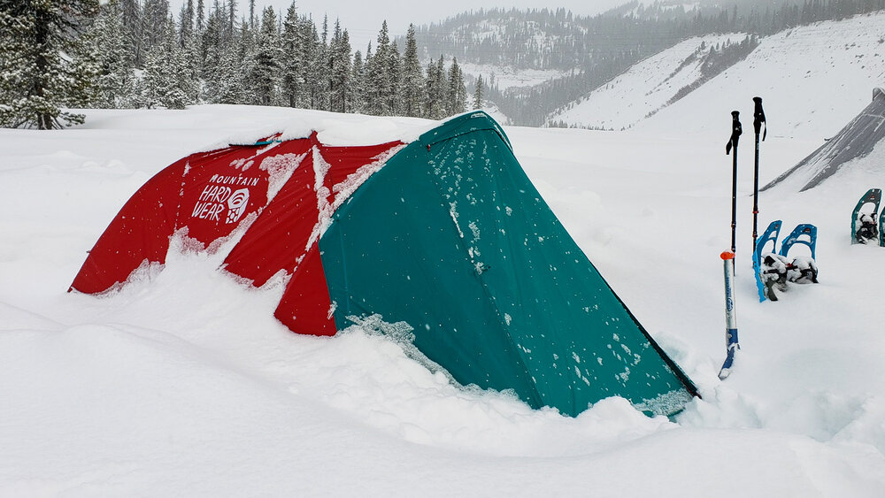 The Mountain Hardwear Outpost 2 is one of the best 4-season tents on the market for weight, strength & livability.
