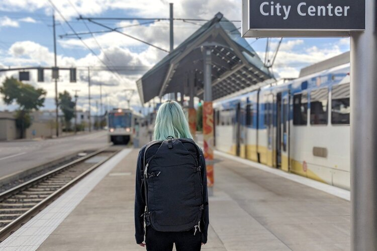 The  Pacsafe Venturesafe EXP45  is the most comfy backpack for carrying all day.
