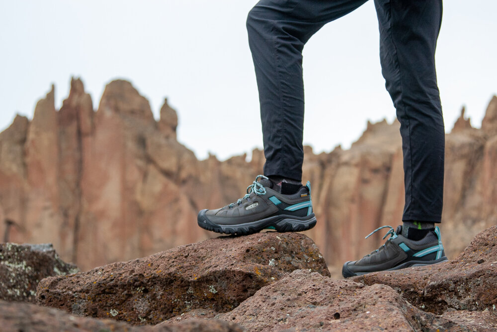 The KEEN Targhee III Low WP ( men's  /  women's ) are on sale for 25% off