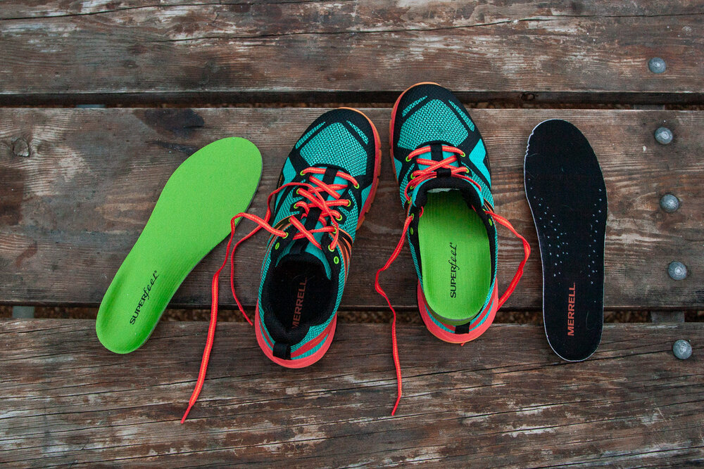 Superfeet Insoles  can help you customize the fit on your favorite hiking shoes, and they're on sale for 25% Off