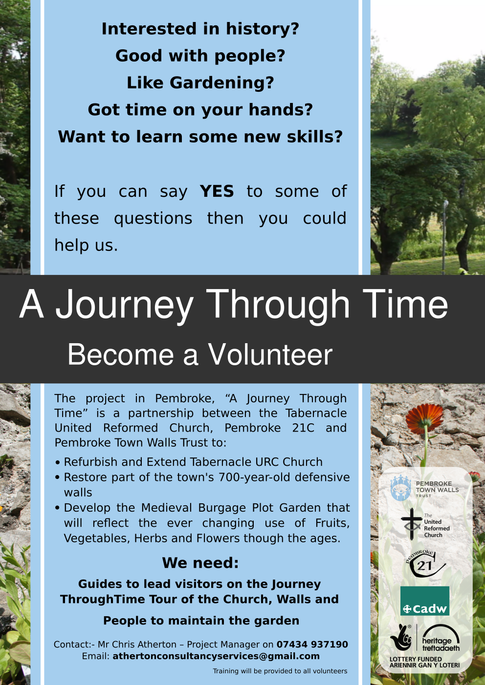 Journey Through Time Volunteer Poster.png