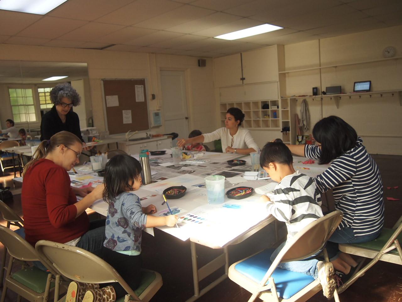 Mommy & Me Art Workshop