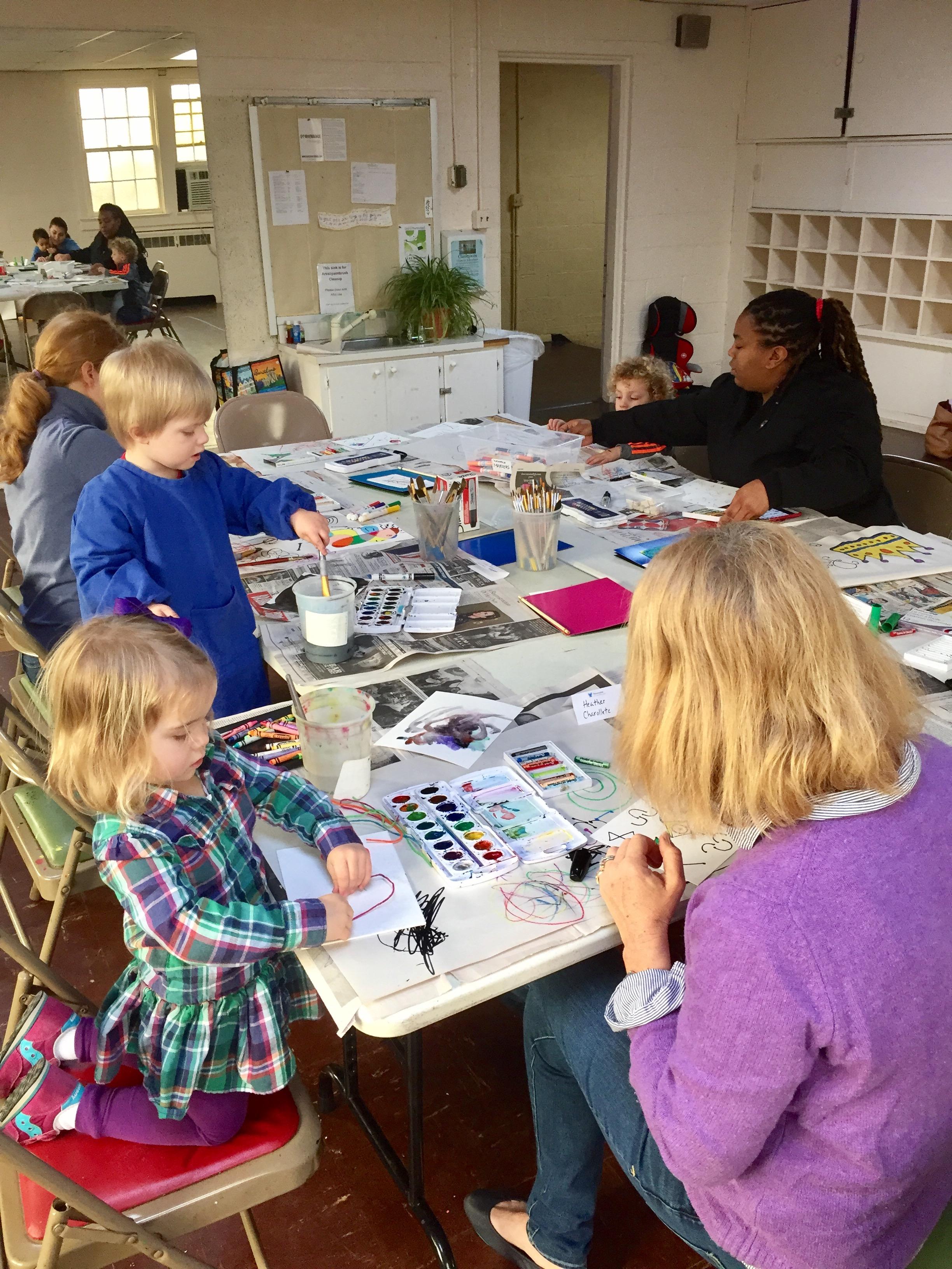 My Art Mom's Art Playgroup