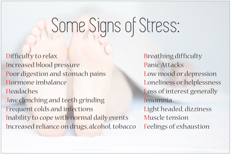 Reflexology for Stress Management — Samantha Lennie