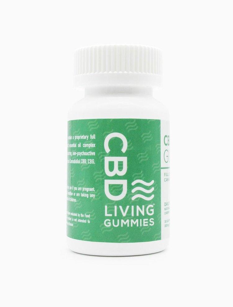 CBD Living Sour Gummies Bottle — The Mustard Seed