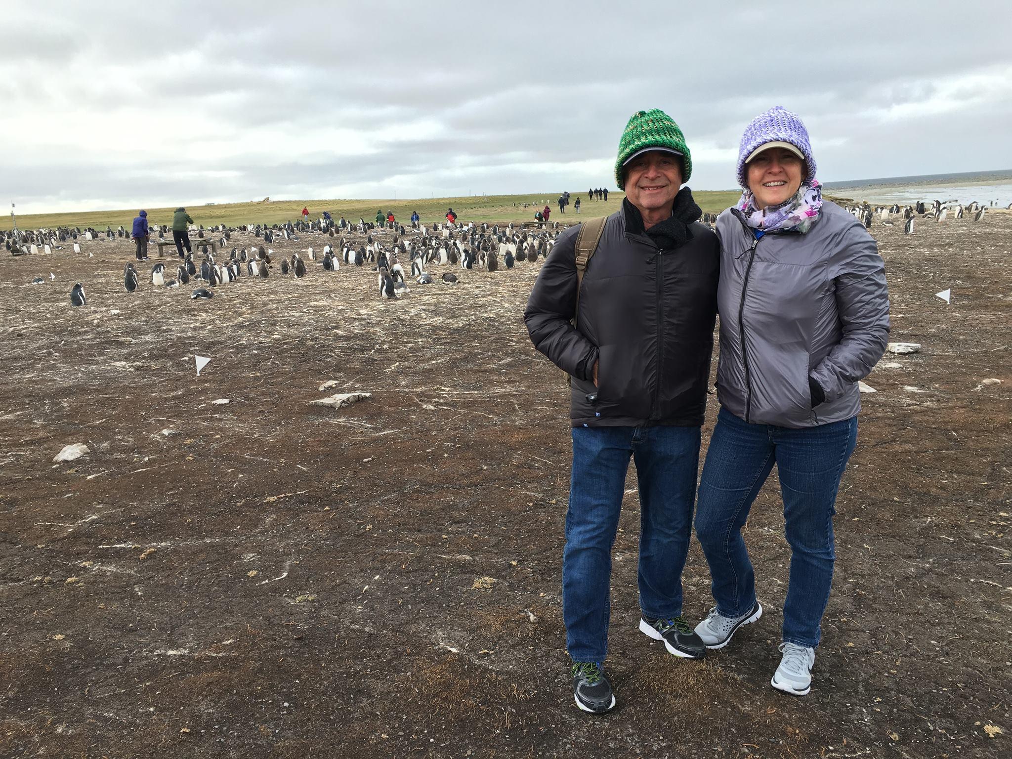 Jill & Bill arctic with penguins.jpg