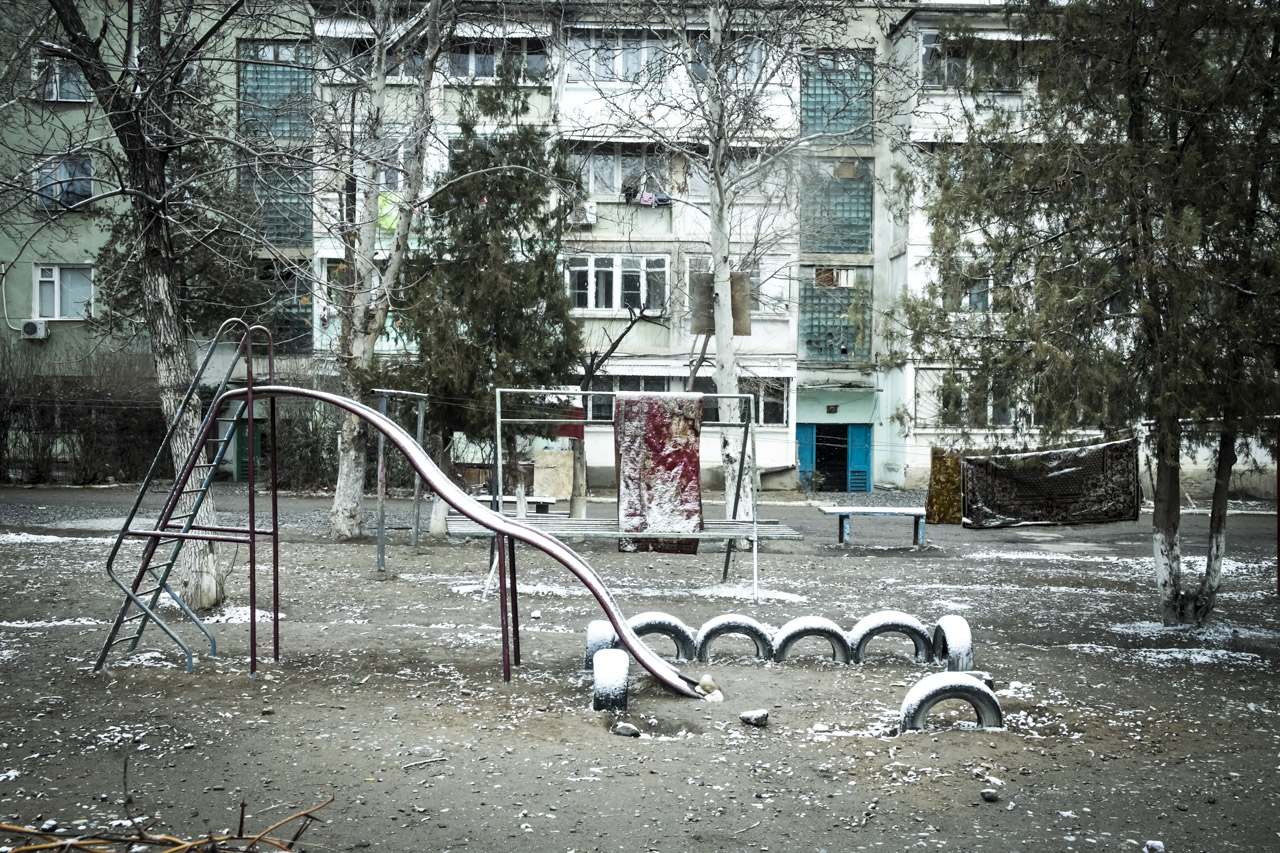 Chkalovsk secret city, Tajikistan 14.jpg