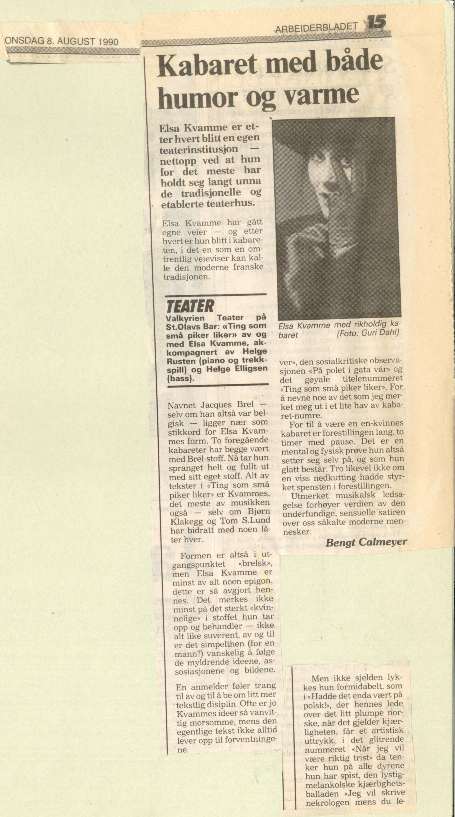 anmledelse_ting som små piker liker_elsa kvamme_arbeiderbladet 08081990_tekst bengt calmeyer.jpg