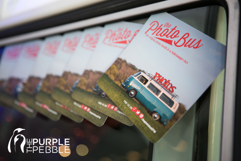 The Photo Bus DFW is a mobile photo booth in a Vintage VW Bus