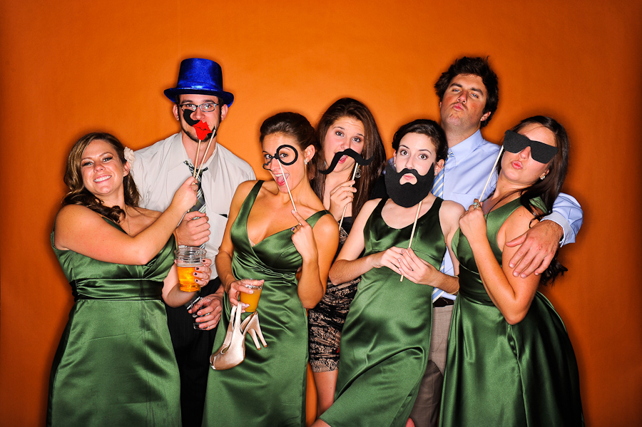 unlimited printing wedding photo booth dallas fort worth