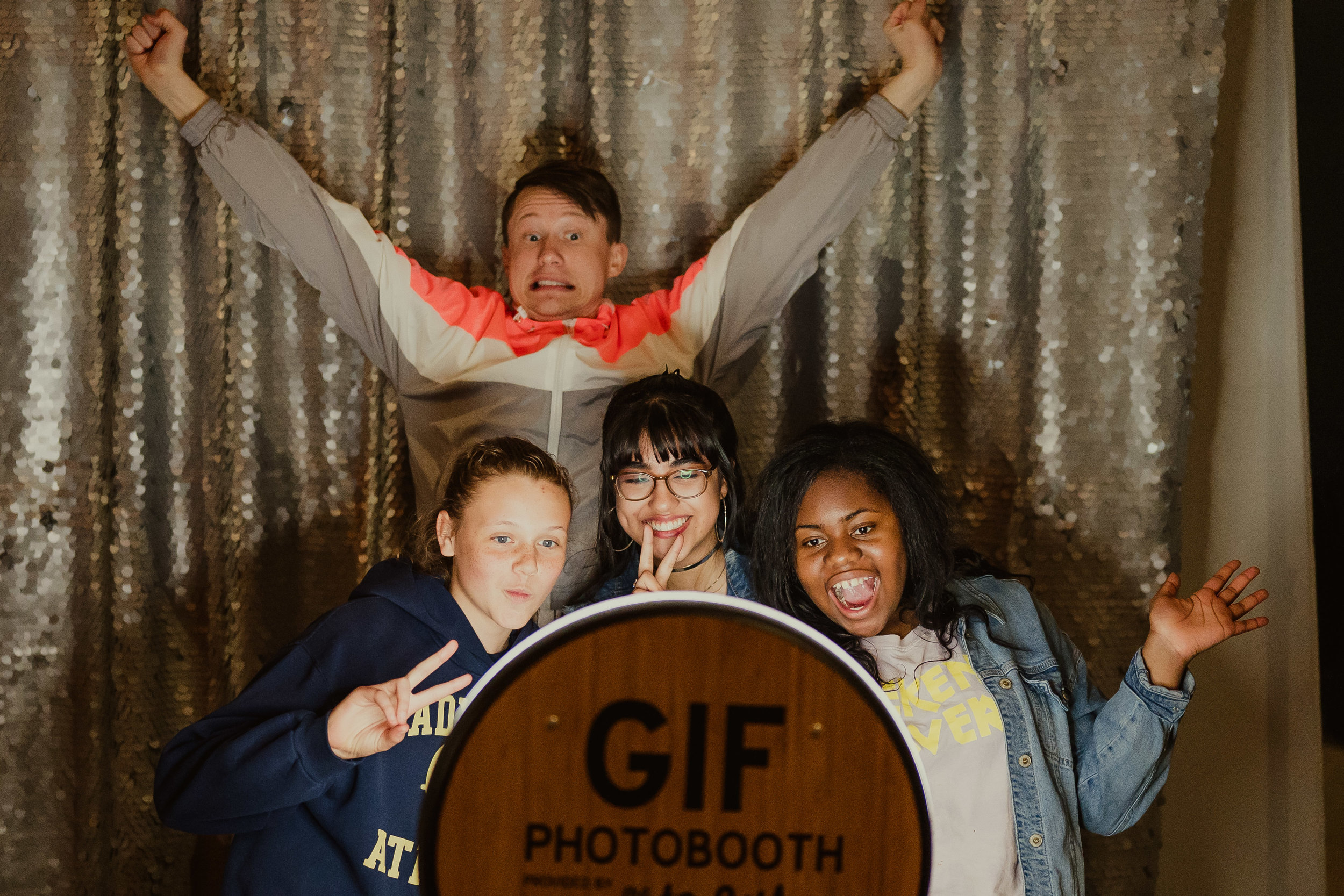 Fun with our GIF Booth in Frisco on wednesday