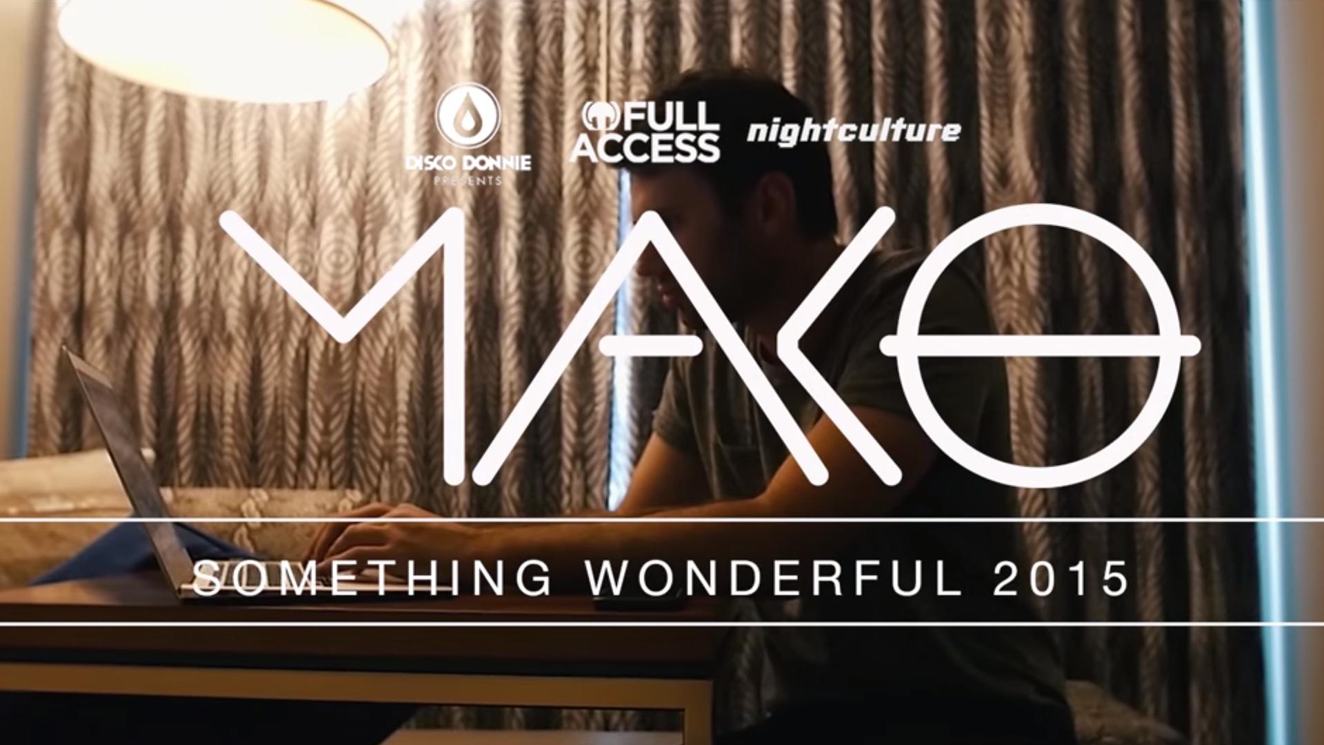 Mako // Something Wonderful Music FestivalArtistAftermovie