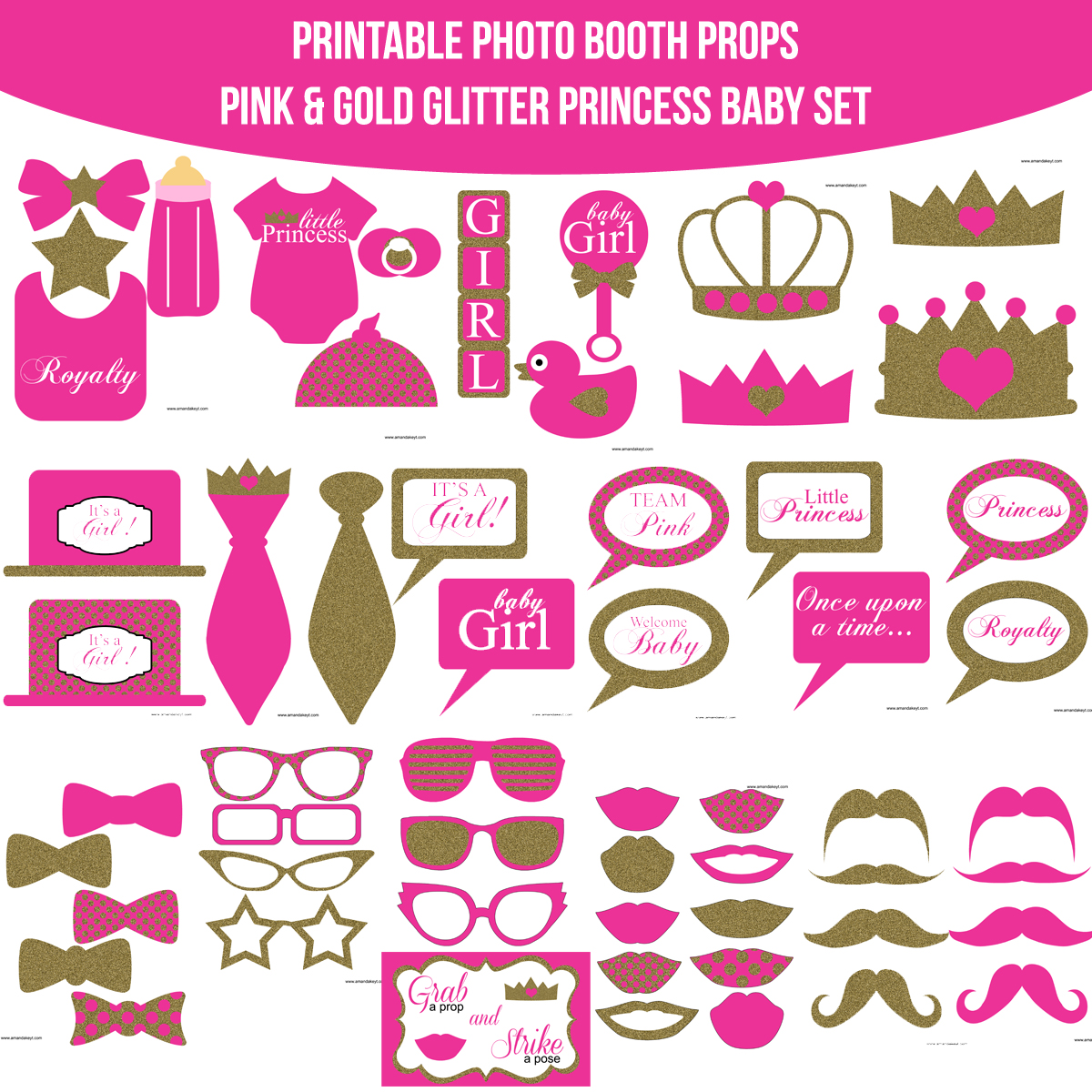 Printable Photo Booth Prop