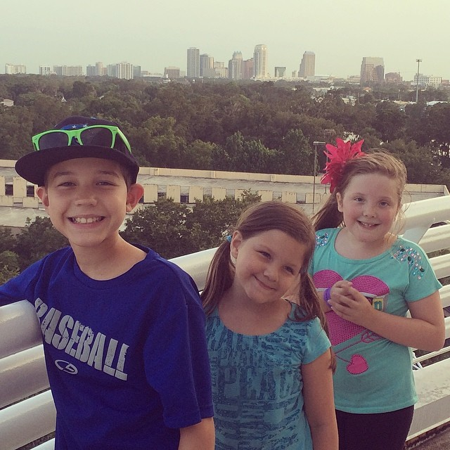 On the Science Center Roof at the Crosby Oberservatory
