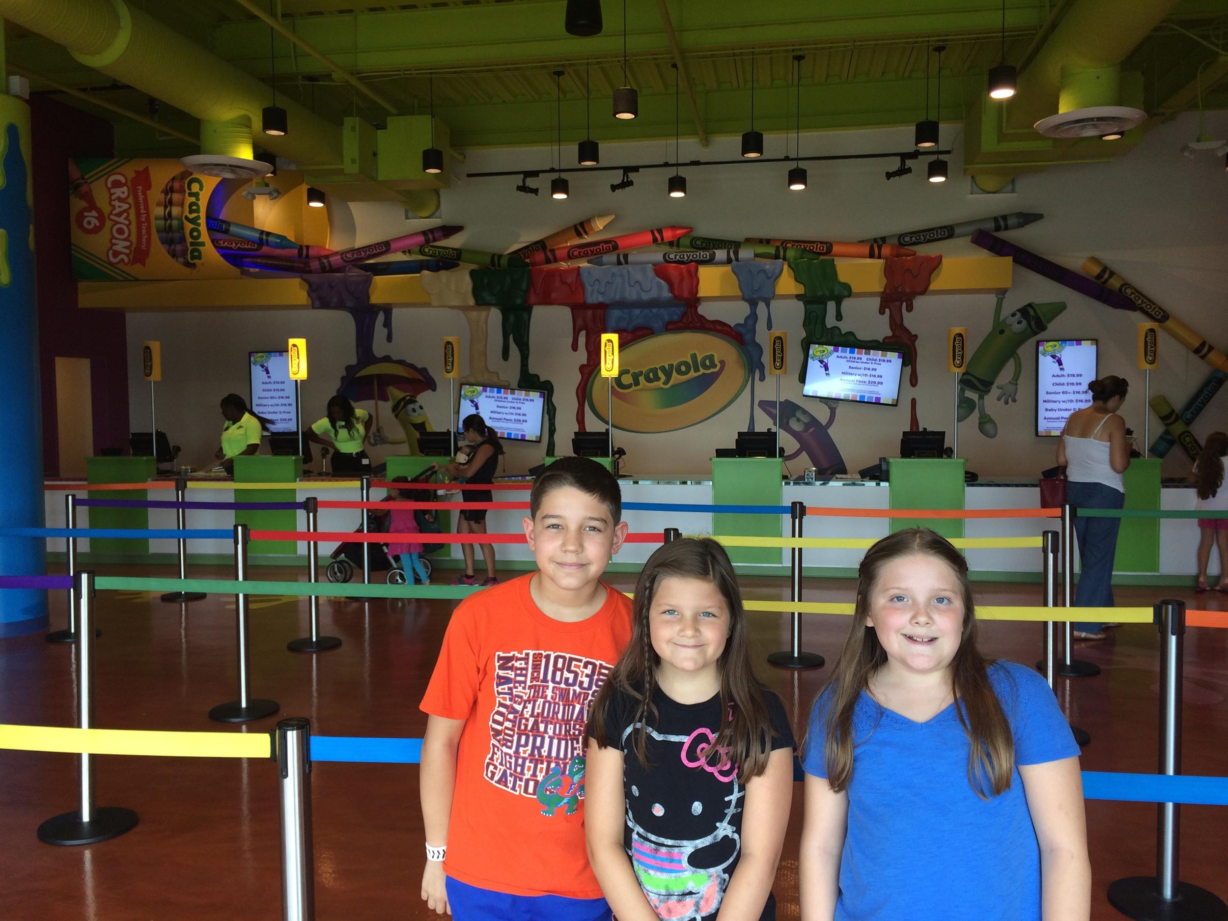 Crayola Experience Orlando, FL Entrance