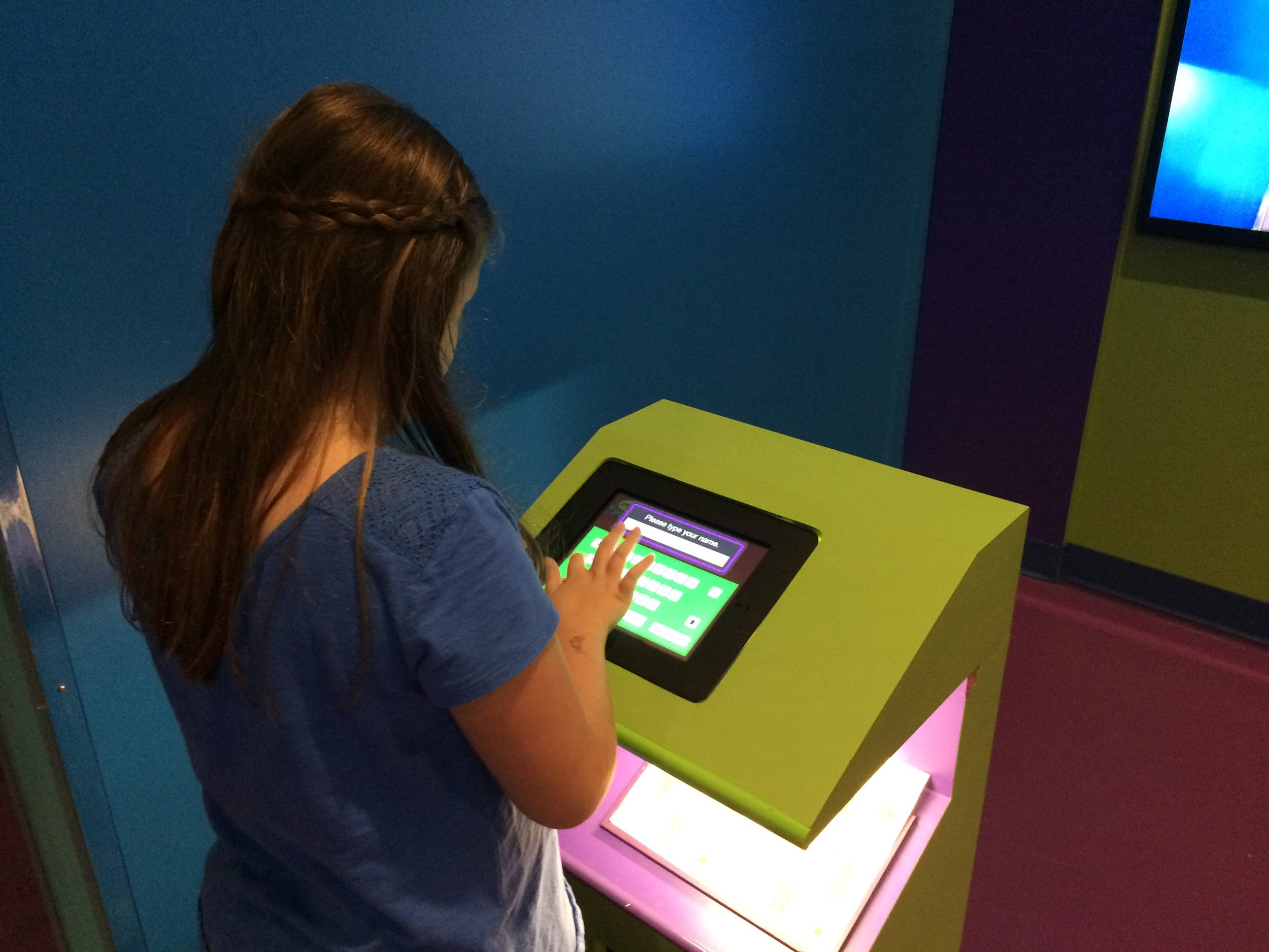 Crayola Experience Orlando, FL YOU DESIGN Individual Kiosk