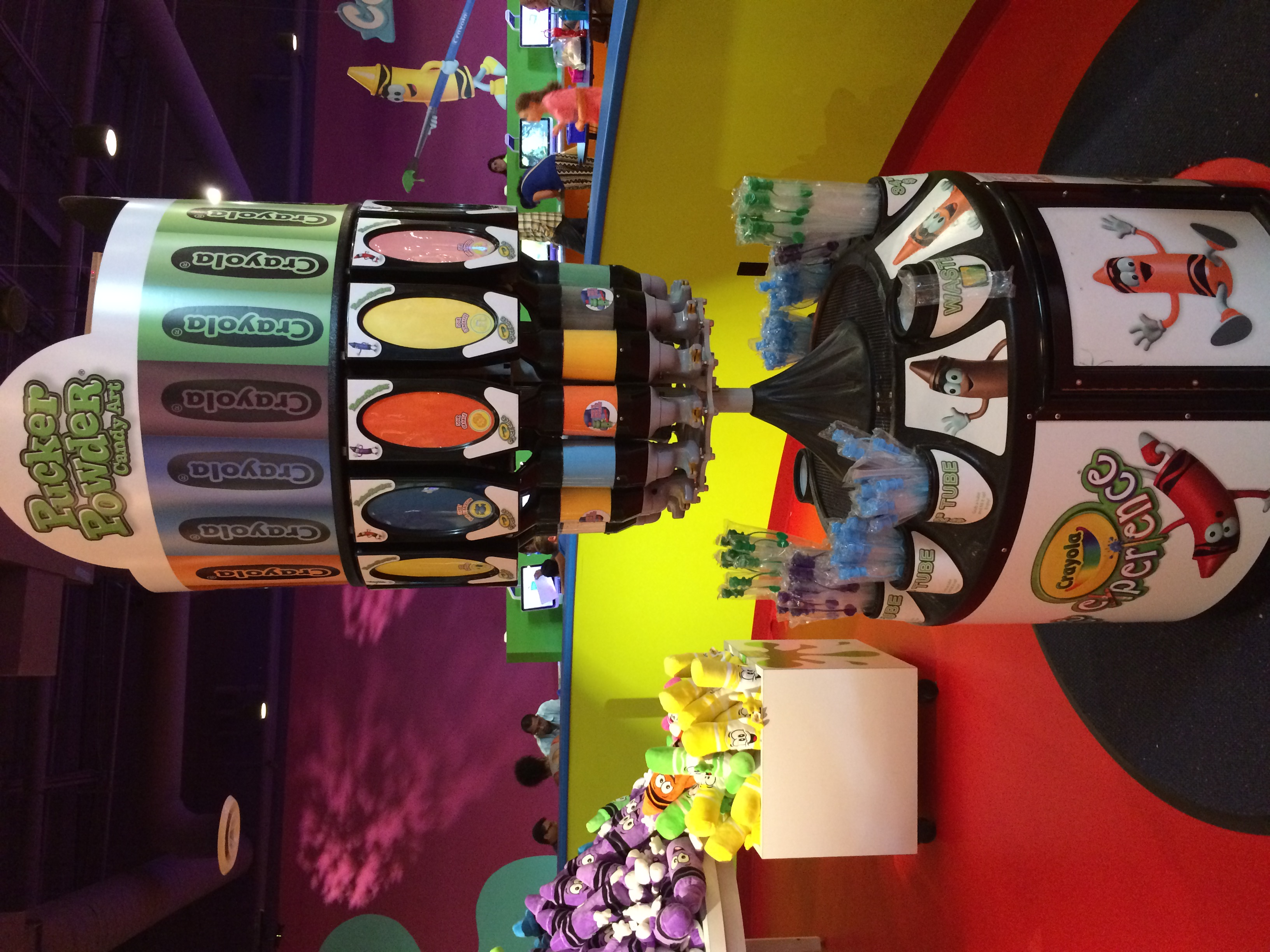 Crayola Experience Orlando, FL TRADING POST Pucker Powder