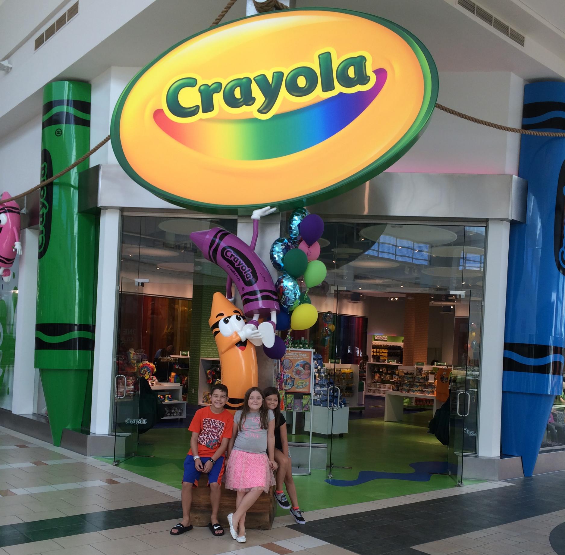 Crayola Experience Orlando, FL CRAYOLA STORE