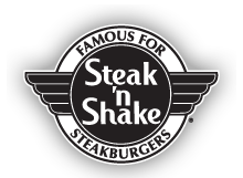 Steak 'n Shake  www.steaknshake.com  Various Locations  Day: Saturday Sunday Time: ALL DAY Kids Meal: Free Age: 10 years & Under Rules: Dine in only. 1 Free Kids Meal per purchase of Regular Price Adult Meal.