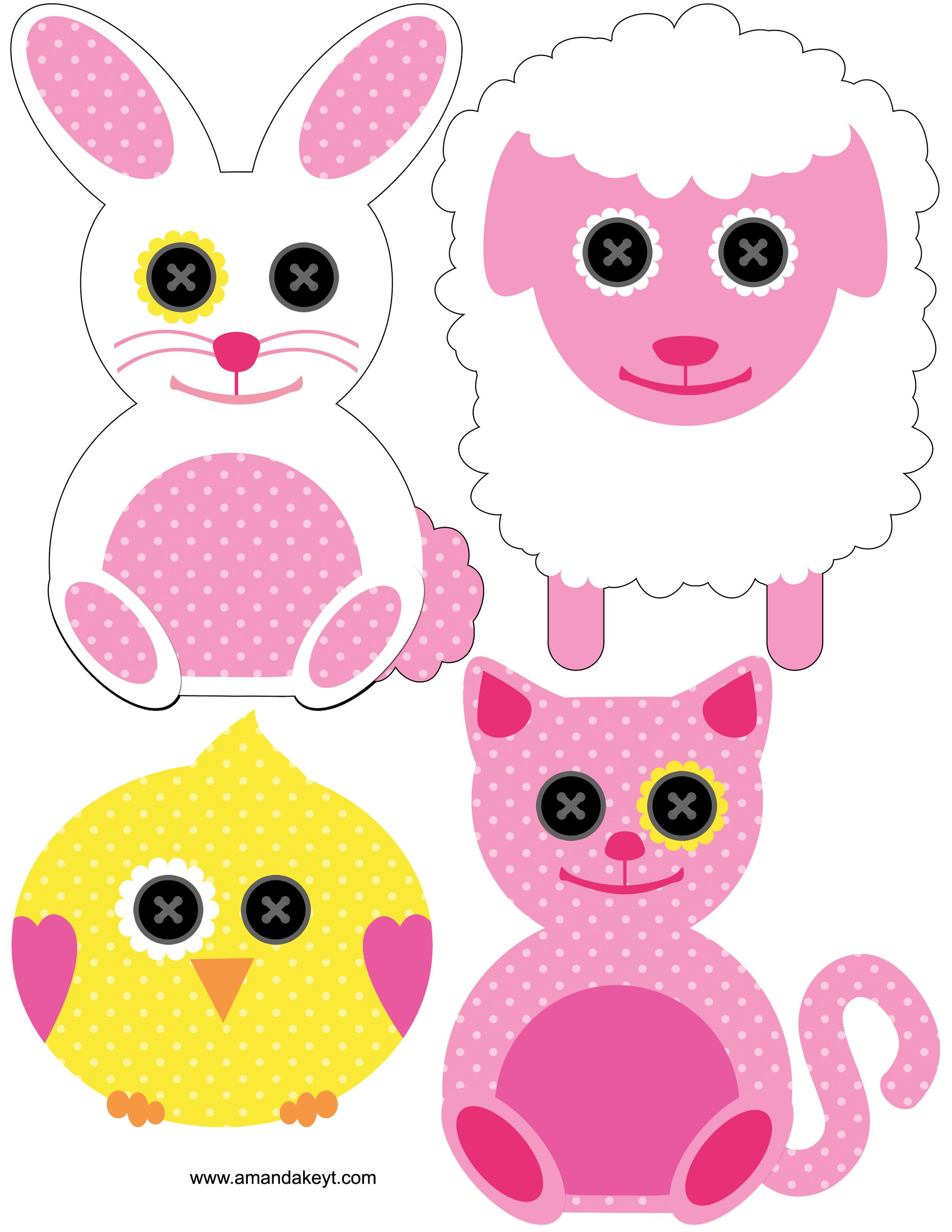 Animals/Baby Doll Set